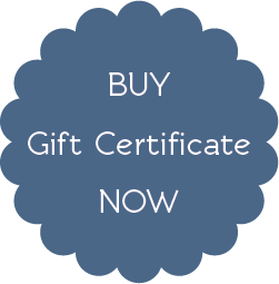 Buy Gift Certificate Now
